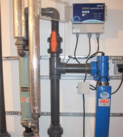 Wasserreinigung, -desinfektion und -erwärmung