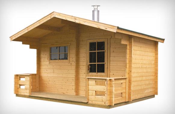 Außensauna - Genießen Sie die Natur mit Harvia Sauna. Echter finnischer Sauna-Genuss